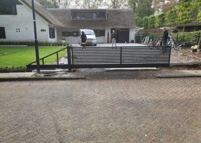 Lamellen schuifpoort Waalwijk (2)